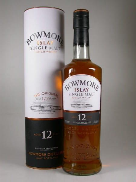 Bowmore 12 Jahre 40%vol. 0,7l altes Design
