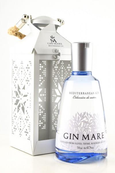 Gin Mare 42,7%vol. 0,7l - Christmas-Lantern