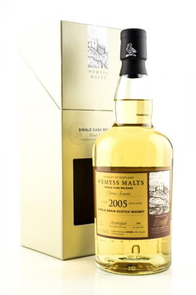 """Citrus Scents"" 2005 Single Bourbon Barrel Strathclyde Wemyss Malts 46%vol. 0,7l"