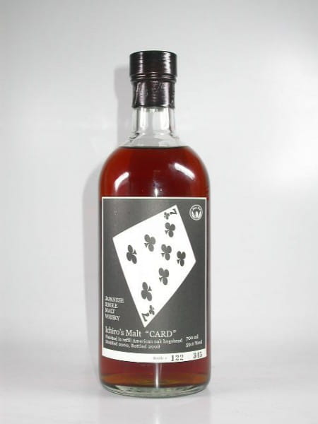 "Hanyu-Ichiro's Malt ""Seven of Clubs"" 00/08 Single Cask #7004 59%vol. 0,7l"
