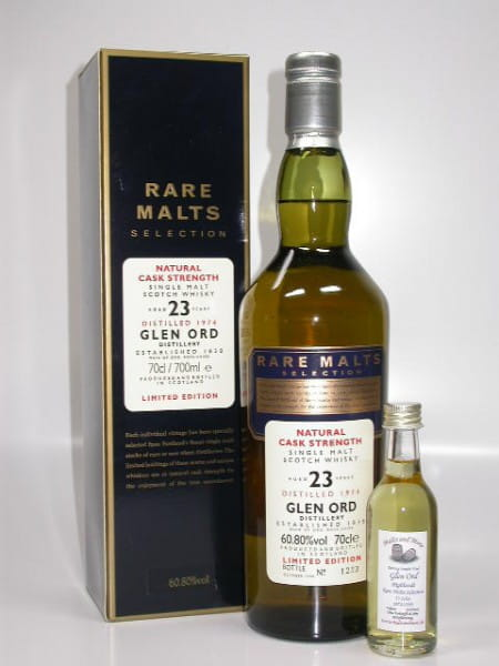 Glen Ord 23 Jahre 1974/1998 Rare Malts 60,8%vol. Sample 0,05l