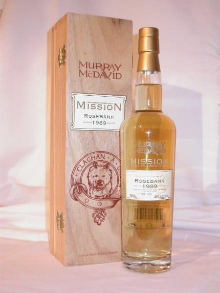 Rosebank 1989/2005 Murray McDavid Mission V 46%vol. 0,7l