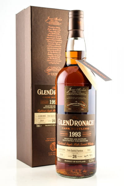 Glendronach 26 Jahre 1993/2019 Pedro Ximénez Puncheon #5965 55,2%vol. 0,7l