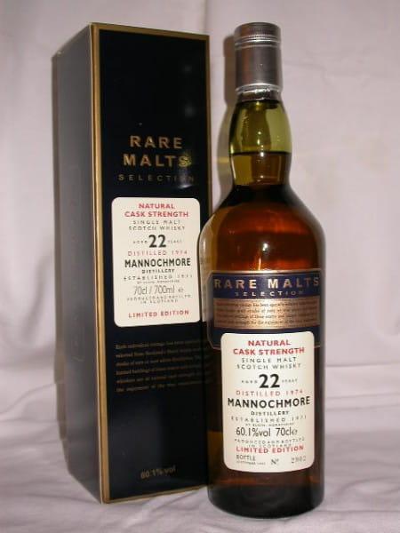 Mannochmore 22 Jahre 1974/1997 Rare Malts 60,1%vol. 0,7l