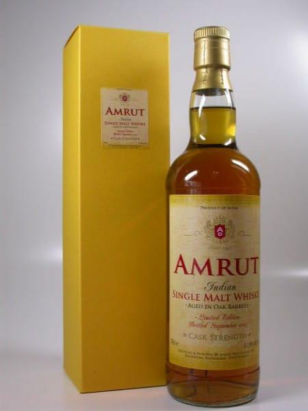 Amrut Cask Strength Bottled September 2007 - Indien - 61,9%vol. 0,7l