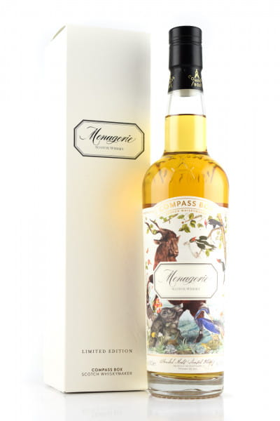 Menagerie Compass Box 46%vol. 0,7l