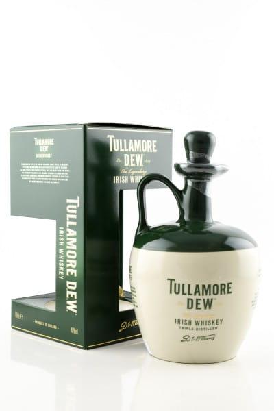 Tullamore Dew Crock 40%vol. 0,7l - Keramik-Krug