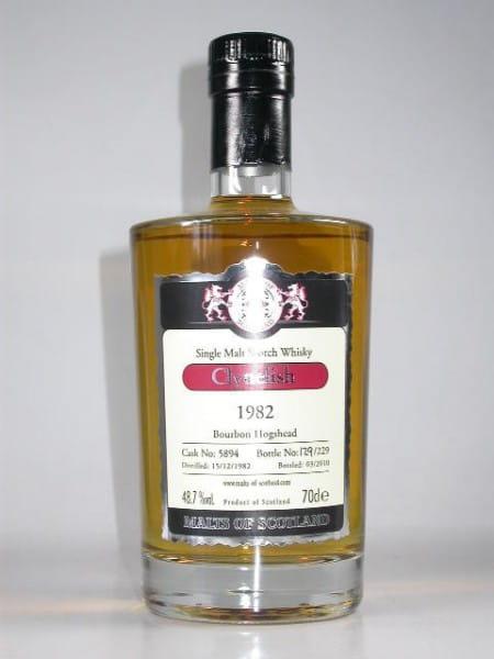 Clynelish 1982/2010 Bourbon Hogshead Malts of Scotland 48,7%vol. 0,7l