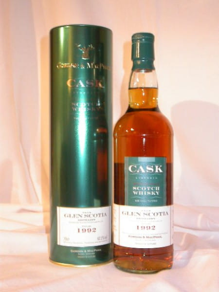 Glen Scotia 1992/2003 Cask str. Gordon & MacPhail 62,1%vol. 0,7l