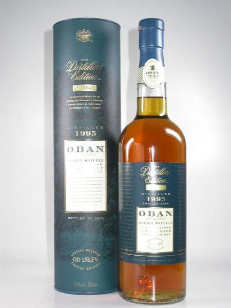 Oban 1995/2009 Distillers Edition 43%vol. 0,7l