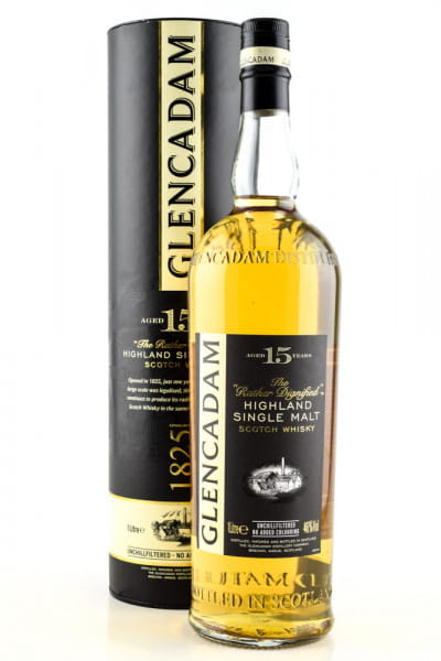 Glencadam 15 Jahre 46%vol. 1,0l