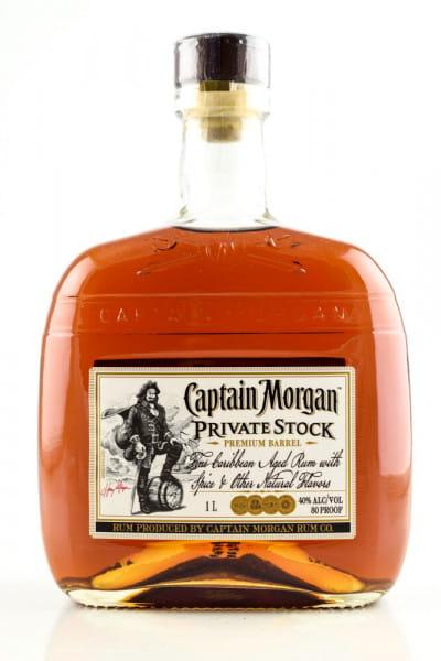 Captain Morgan Private Stock 40%vol. 1,0l