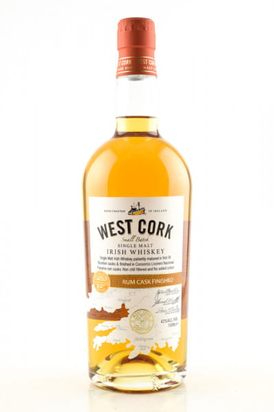 West Cork Rum Cask Finished 43%vol. 0,7l