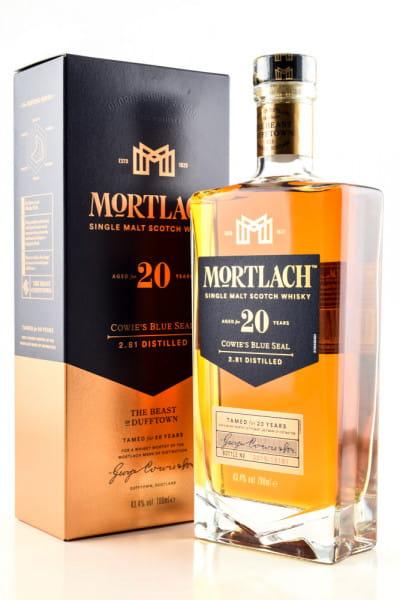 Mortlach 20 Jahre 43,4%vol. 0,7l