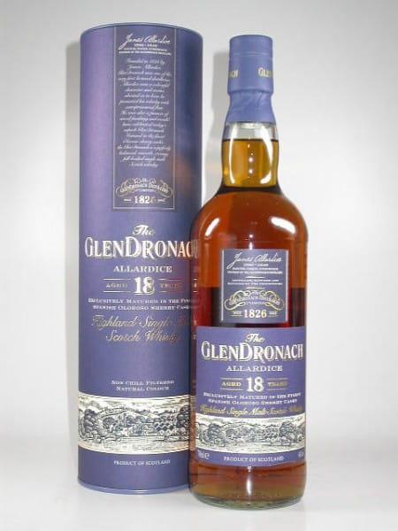 Glendronach 18 Jahre Allardice Lot #1 (Oloroso Cask) 46%vol. Sample 0,05l