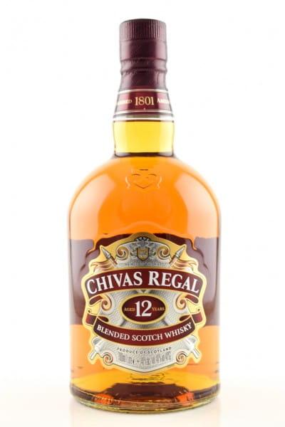 Chivas Regal 12 Jahre 40%vol. 1,0l