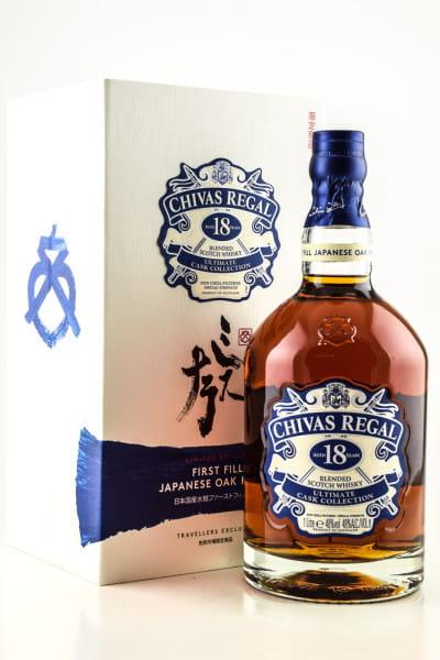 Chivas Regal 18 Jahre First Fill Japanese Oak Finish 48%vol. 1,0l