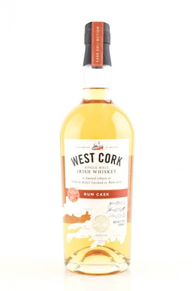 West Cork Rum Cask 46%vol. 0,7l