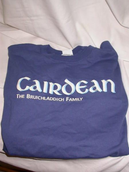 Bruichladdich Cairdean T-Shirt Gr. XL
