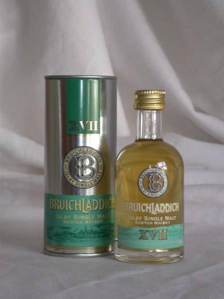 Bruichladdich 17 Jahre 46%vol. 0,05l