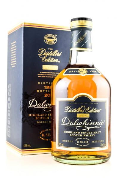 Dalwhinnie 1997/2013 Distillers Edition 43%vol. 0,7l