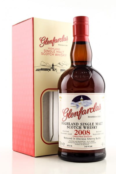 Glenfarclas Christmas 2008/2018 46%vol. 0,7l