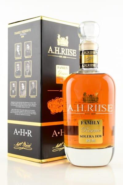 A.H. Riise Family Reserve Solera 1838 42%vol. 0,7l