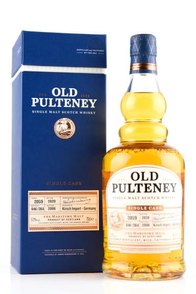 Old Pulteney 14 Jahre 2006/2020 Single Cask #2059 53%vol. 0,7l