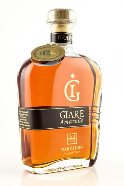 Marzadro Grappa Giare Amarone 41%vol. 0,7l