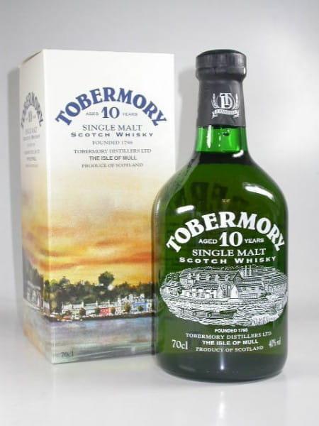 *Tobermory 10 Jahre 40%vol. 0,7l