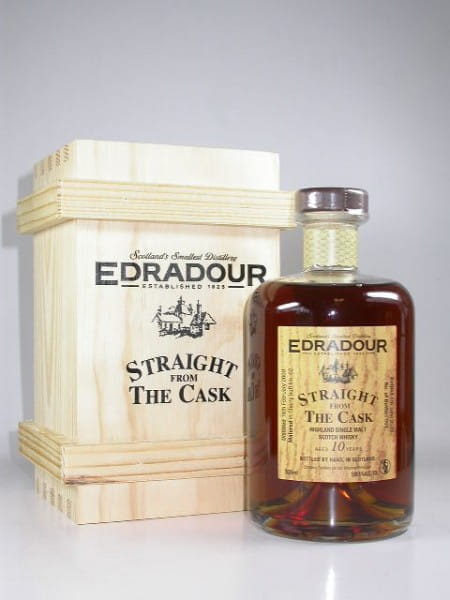 "Edradour 10 Jahre 2000/2010 ""Straight from the Cask"" 59,1%vol. 0,5l"