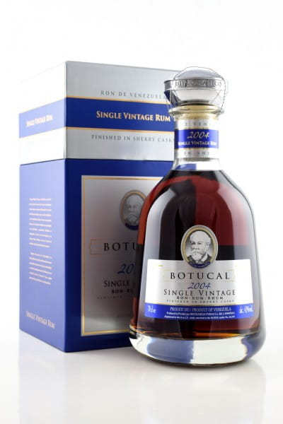 Botucal Single Vintage 2004 43%vol. 0,7l