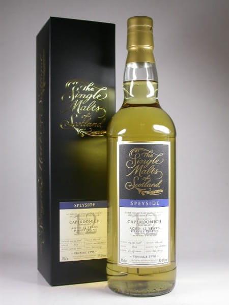"""Caperdonich 12 Jahre 1998/2010 Heavily Peated """"The Single Malts of Scotland"""" 57%vol. 0,7l"""