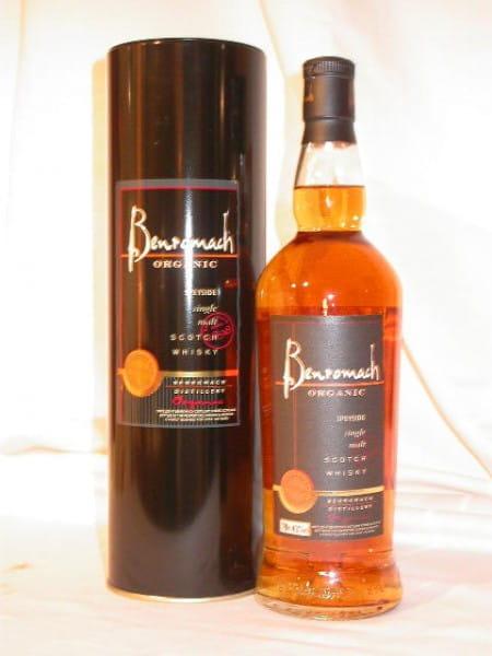 *Benromach Organic 43%vol. 0,7l