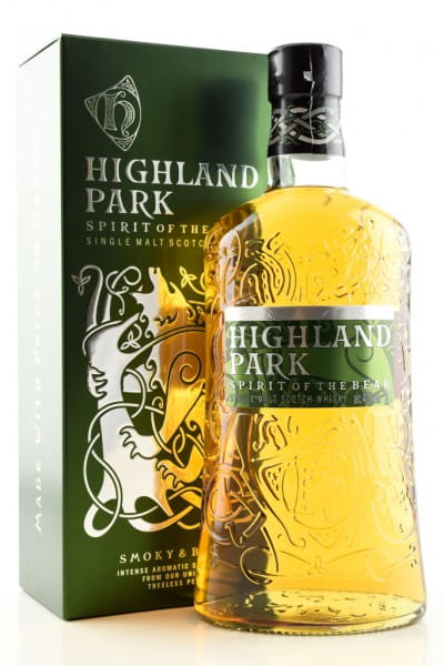 Highland Park Spirit of the Bear 40%vol. 1,0l