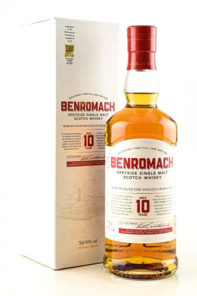 Benromach 10 Jahre 43%vol. 0,7l