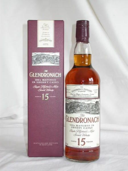 Glendronach 15 Jahre 40%vol. 0,7l