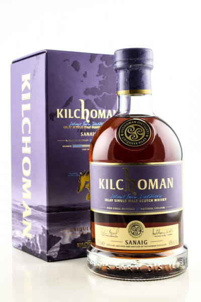 Kilchoman Sanaig 46%vol. 0,7l