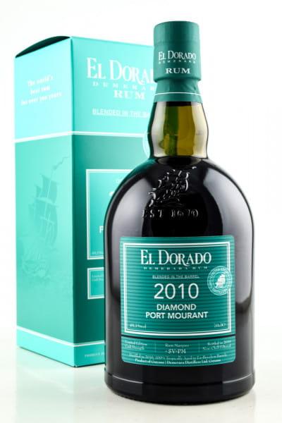 El Dorado Diamond/Port Mourant 2010 49,1%vol. 0,7l