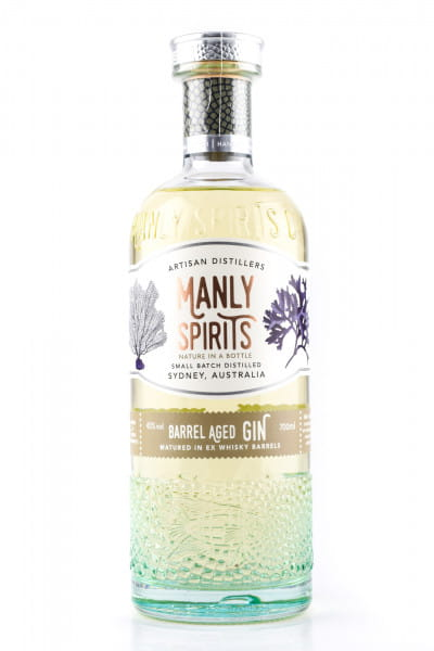 Manly Spirits - Whisky Barrel Aged Gin 45%vol. 0,7l