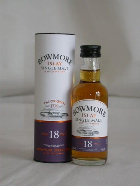 Bowmore 18 Jahre 43%vol. 0,05l