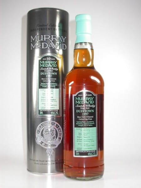 Dufftown 1997/2007 Bourbon/Syrah Murray McDavid 46%vol. 0,7l