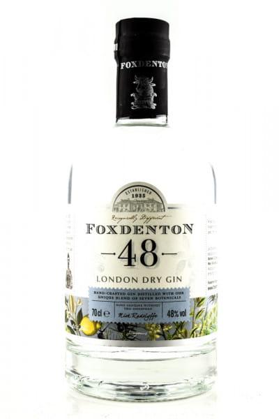 Foxdenton 48 London Dry Gin 48%vol. 0,7l