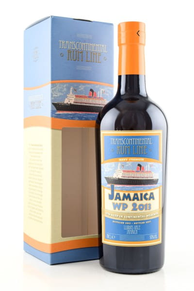 Jamaica WP 2013 Transcontinental Rum Line 57%vol. 0,7l