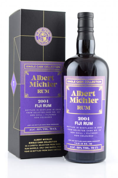 Albert Michler Single Cask Collection Fiji 2004/2020 52%vol. 0,7l