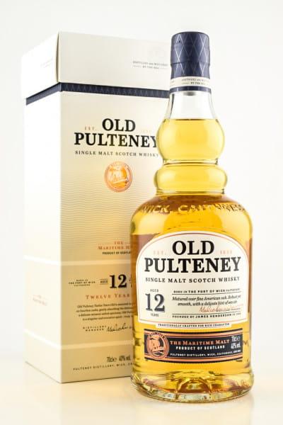 Old Pulteney 12 Jahre 40%vol. 0,7l