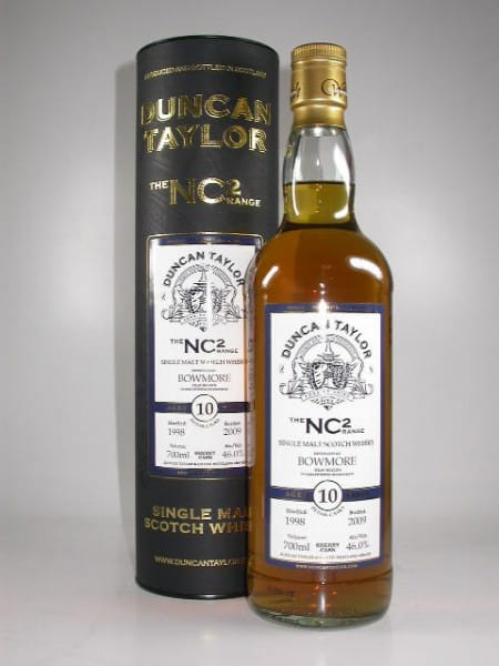 Bowmore 1998/2009 Sherry Cask The NC2-Range Duncan Taylor 46%vol. 0,7l