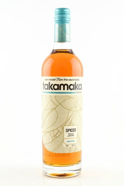 Takamaka Spiced 38%vol. 0,7l