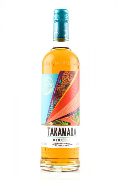 Takamaka Dark Spiced 38%vol. 0,7l