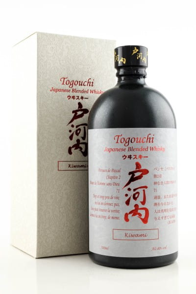 Togouchi Kiwami Blended Whisky 40%vol. 0,7l